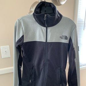 NEW grey gray -North Face Jacket - size small SM !